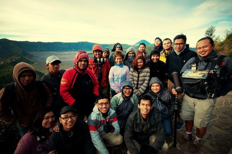 telkomsel Group Photo nekad traveler crew