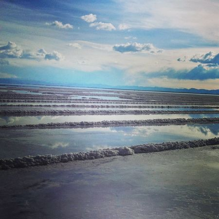 Salt Field Las Salinas Humahuaca Argentina Photography Sky Clouds Amazing Places