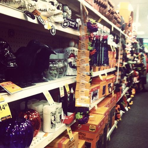 🎶It's the most wonderful time...of the year...🎶 🎃👻👍 Drugstorehalloweenshit Whoo Halloween Iloveit