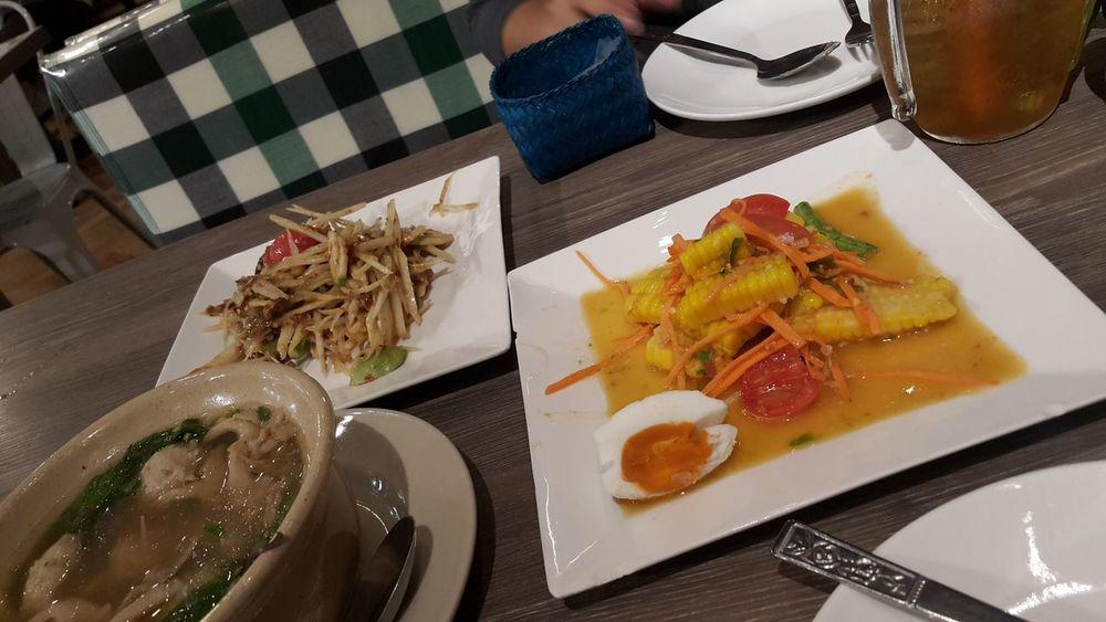 Thai Style Thai Food Thai Foods Spicy Food Yummy Food Som Tum Thai