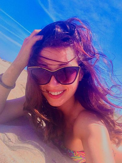 That's Me Hello World Cheese! Taking Photos Enjoying Life Relaxing Summer Sea Beach Enjoying The Sun