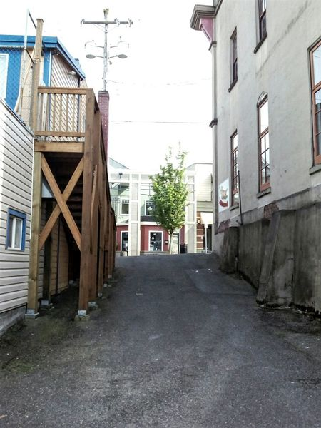 Architecture Built Structure Building Exterior Day Outdoors No People City Sky Canada 150 Vancouverisland Nanaimo BC Occidental Alleyways