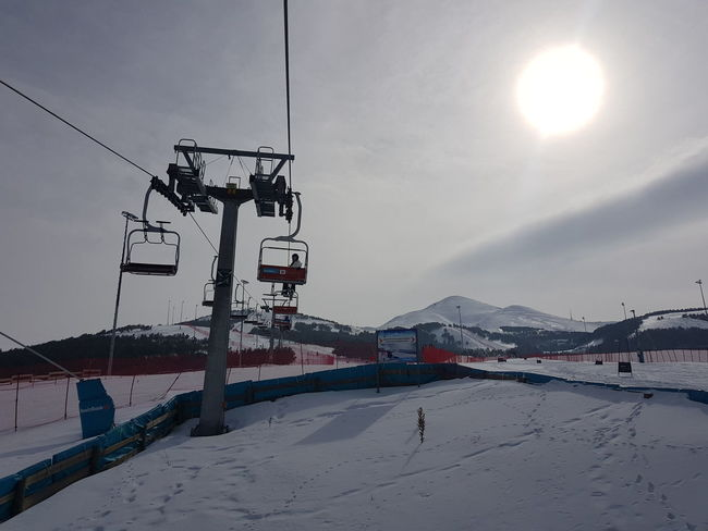 Palandoken mountain, Erzurum, Turkey Erzurum Skiing Snowboarding Beauty In Nature Cable Cold Temperature Day Low Angle View Mountain Nature No People Outdoors Overhead Cable Car Palandoken Scenics Ski Ski Lift Sky Snow Sway Hotel Transportation Weather Winter