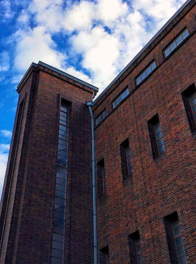 Berlin Blue Blue Sky Brick Brick Building Brick Wall Bricks Brown Building Building And Sky Building Exterior Buildings Buildings & Sky Cloud Cloud - Sky Drainpipe Dramatic Sky Pipe Sky Sky And Clouds Sky_collection Skylovers Skyporn Spout Windows