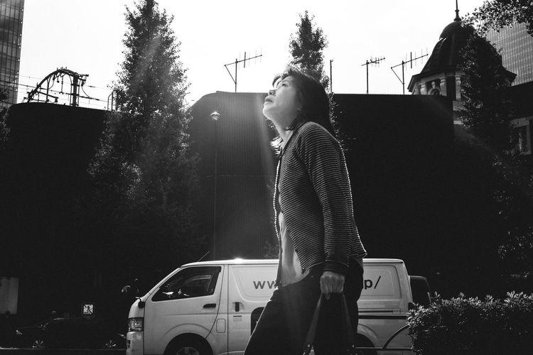 something in the sky Awakening Blackandwhite Everyday Street Glare High Contrast Japan Leica Monochrome Morning Light Street Summicron Tokyo Tokyo Diary Ultimate Japan Showcase July