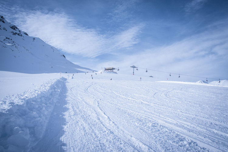 Landscape_Collection Nature Skiing Snow ❄ Südtirol Beauty In Nature Cold Temperature Day Frozen Landscape Mountain Mountains Nature No People Outdoors Scenics Ski Lift Sky Snow Snowcapped Mountain Tranquil Scene Tranquility Weather Winter
