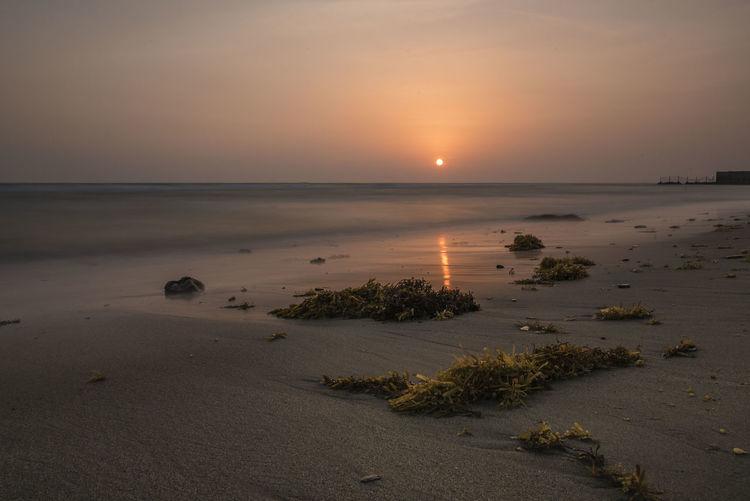sunset Jazan