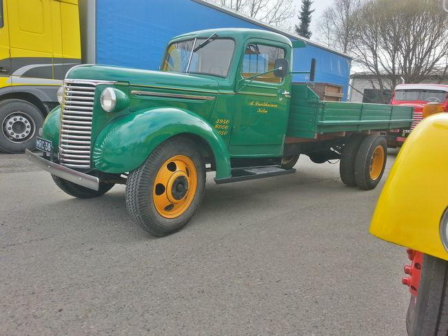 Taking Photos Finland Kitee Chevrolet Green Old Car Rebuilt Enjoying Life Classic Cars Vintage