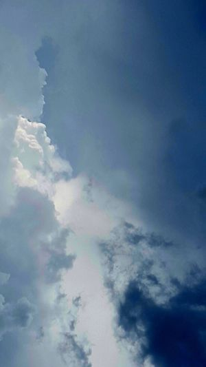 Faces So Many Faces Cloud Faces Cloud Formation Blue Backgrounds Abstract Weather Wind Cloudscape Sky Cloud - Sky Sky Only Cumulonimbus Dramatic Sky Cumulus Cloud Stratosphere
