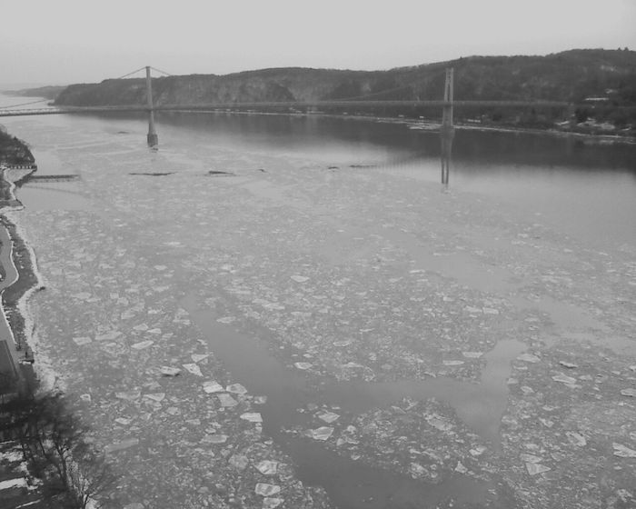Hudson River - Hudson River Taking Photos Light And Shadow Streetphotography_bw Blackandwhite Black And White Poughkeepsie