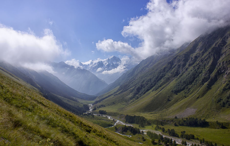 Beauty In Nature Caucasus Climbing Landscape Morning Mountain Mountains Nature No Filter No People Peak Russia Summit