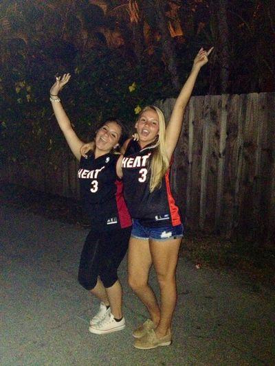 Champions Miami Heat Back2back! GOHEAT!!!