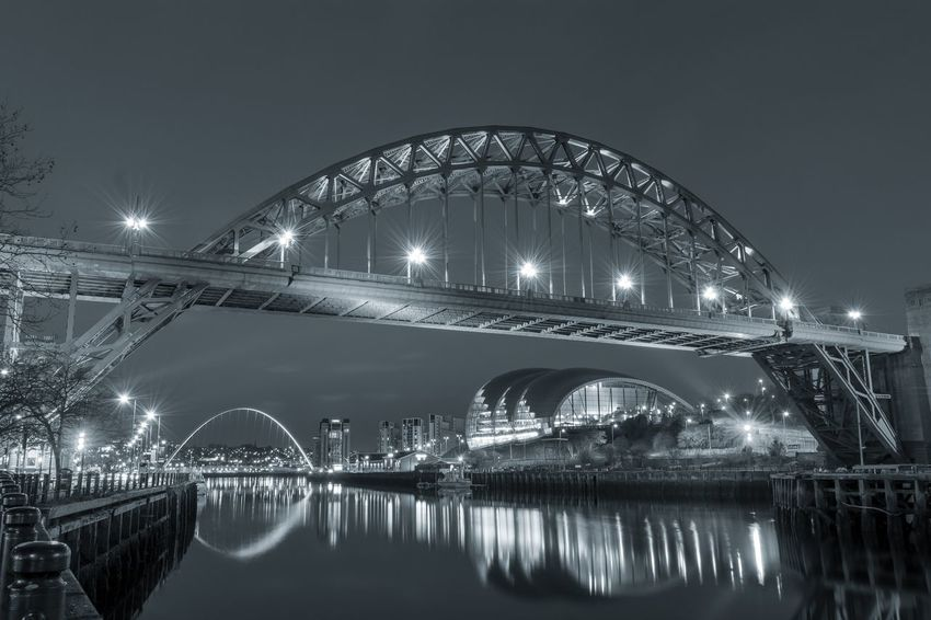 River tyne in black and white Quaysidenewcastle MillenniumBridge Photooftheday Engineering Gatesheadmillenniumbridge Rivertyne Newcastle Rivertynebridge Tynebridge  Newcastleupontyne Gateshead Bridge Bridges Tyneside Tyne Sage Photography Blackandwhite Black And White Riverbank River Riverside River View Rivertynebridges Quayside Newcastleuk Tynebridges Newcastlequayside Bridgeview Northeast Black & White Night Travel Destinations Reflection Arts Culture And Entertainment Architecture Illuminated Bridge - Man Made Structure Travel Water Outdoors Modern No People City Sky EyeEmNewHere Stories From The City
