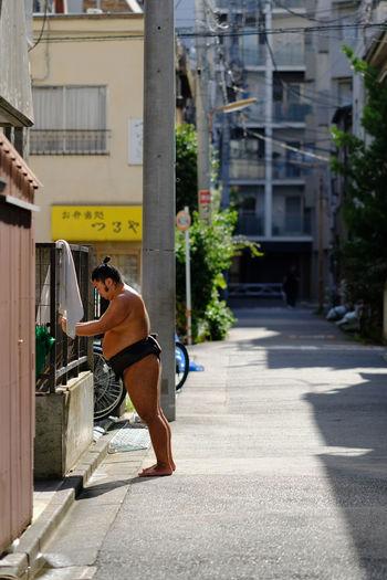 Beya Japan Street Streetphotography Sumo Sumowrestler Tokyo Training