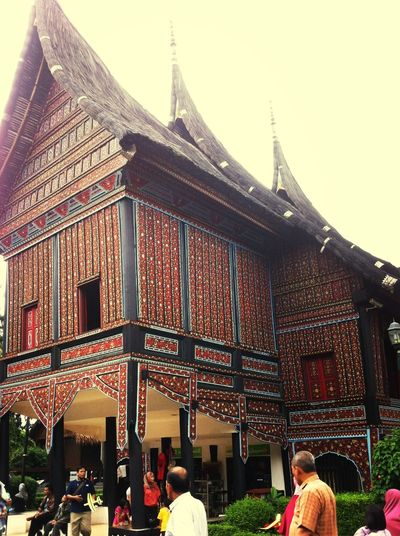 Traditional House Rumah Gadang Nice View
