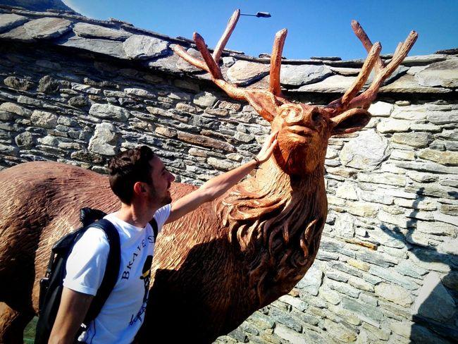 Statue Human Hand Standing Gesturing Sky Sculpture Art Visiting Sculpted Historic
