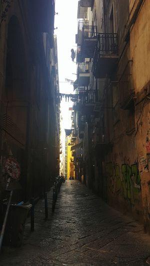 """vicoli"" City Napoli Vicoli Di Napoli PanniStesi Streetlife Reallife"