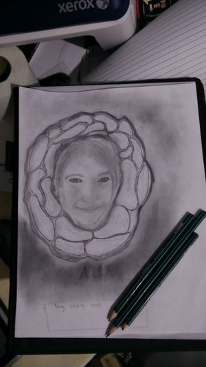 Art And Craft Close-up Creativity Day Directly Above Drawing - Activity Drawing - Art Product Indoors  No People Paper Pencil Drawing Sketch Sketch Pad Fresh On Eyeem  Fake Love Fake Everyting 😐😐😢😢 Fake Love Love Fails