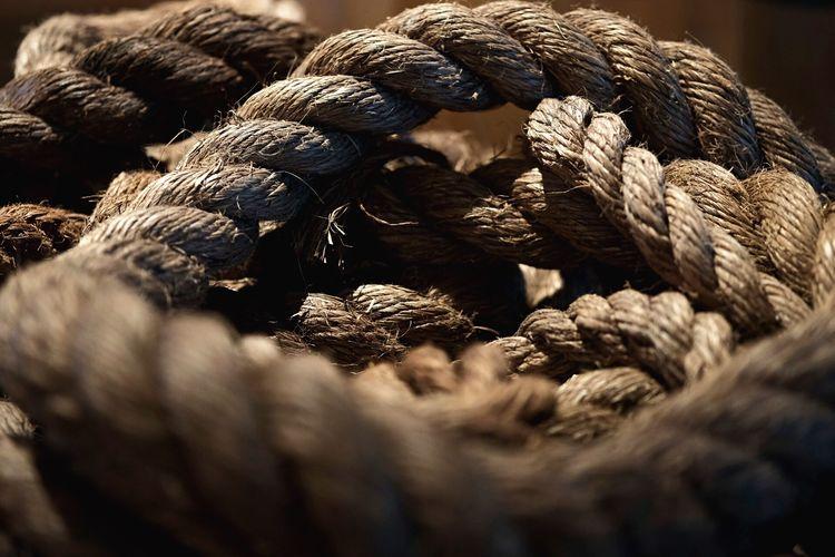 Full frame shot of rope