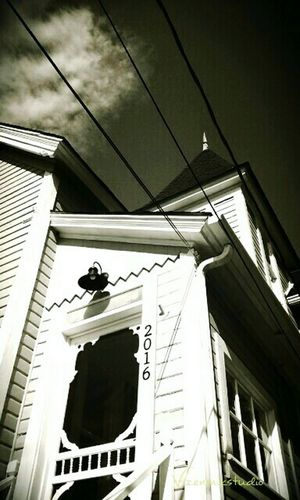 Taking Photos Photography Outdoors Old Houses Queenanne EE_Daily: Black And White B/W Photography Gillman House