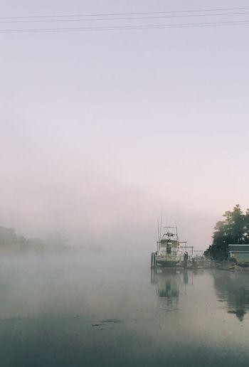 Foggy morning on the waterway. IPSWeather First Eyeem Photo