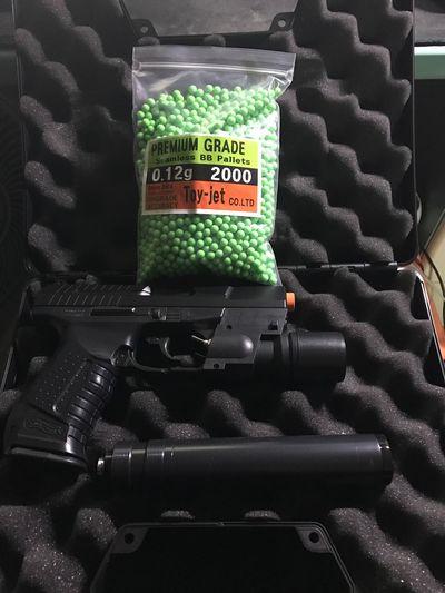 P99 Gun Full Metal BB Walter Series