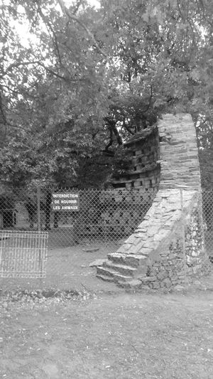 Empty Zoo Don't Give Food To Animals Blackandwhite Blackandwhite Photography