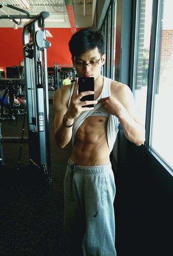What nerd would look like woth abs