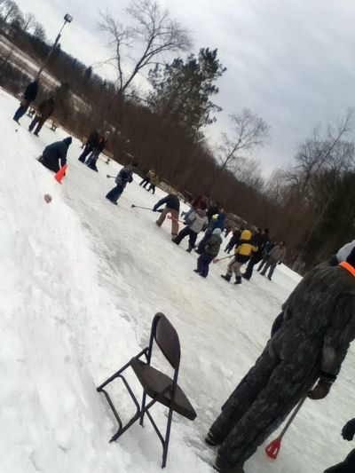 #camp #wisconsin #BroomBall