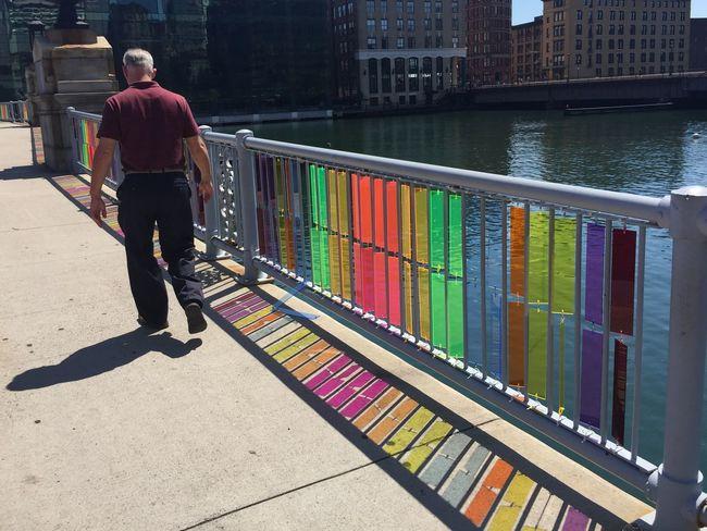 IPhoneography Colour Of Life Boston Sun Shadow Rainbow