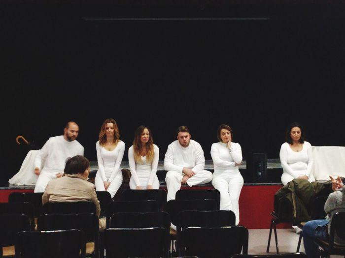 Teatro Ultimi Prove Last White Color