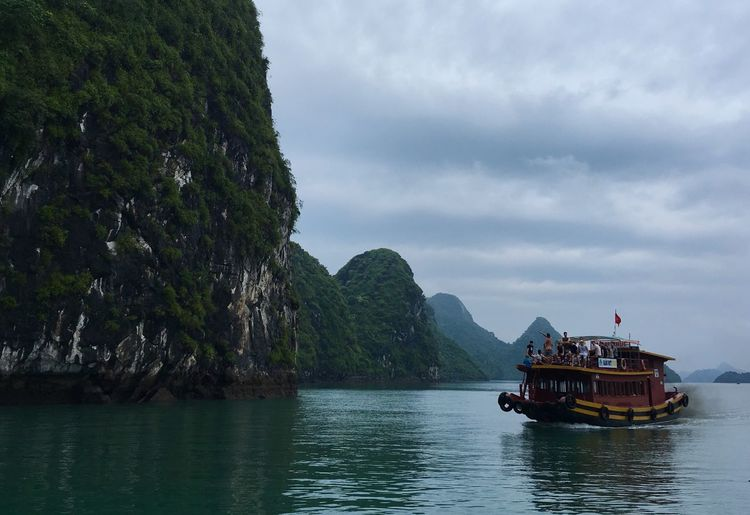 After the rain on Ha Long Bay. First Eyeem Photo Vietnam Travel Travel Destinations Hanoi Halong Bay Vietnam Traveling