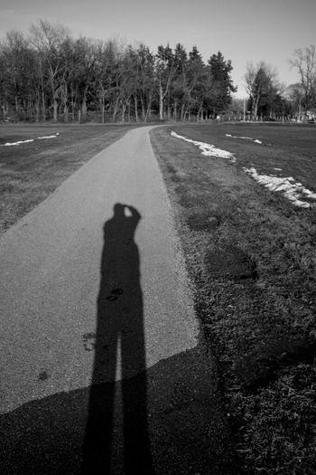 Some Winter Blackandwhite Black And White Winter Shadow Selfportrait Black & White Fortheloveofblackandwhite