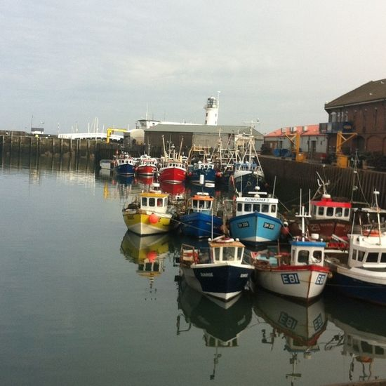 Boats Water Reflection