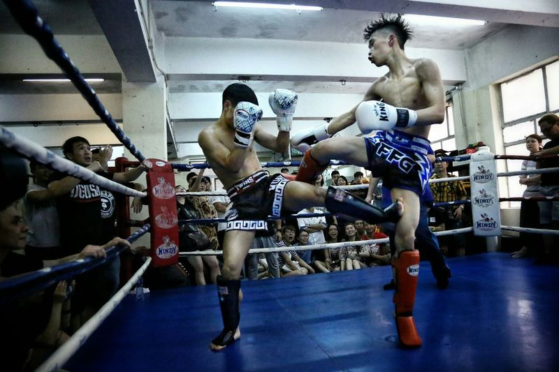 Real Fighters Billy Gym's, Inter- Gym's Thai Boxing HKMTA MAUY THAI Light And Shadows Alternative Fitness