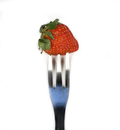 Choice Drainer Fork Fruit Display Fruit Strainer Grabbing Something. Have A Bite Healthy Eating Kitchen Art Kitchen Utensils Plastic Rack Red Stawberry Display