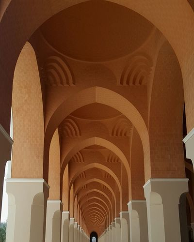 Mosque Mosque Architecture EyeEm Selects Architecture Photography EyeEmNewHere Orange Place Of Worship Architectural Column History Arch Cultures Architecture Built Structure Architecture And Art Architectural Design Brick The Architect - 2018 EyeEm Awards The Traveler - 2018 EyeEm Awards 17.62°