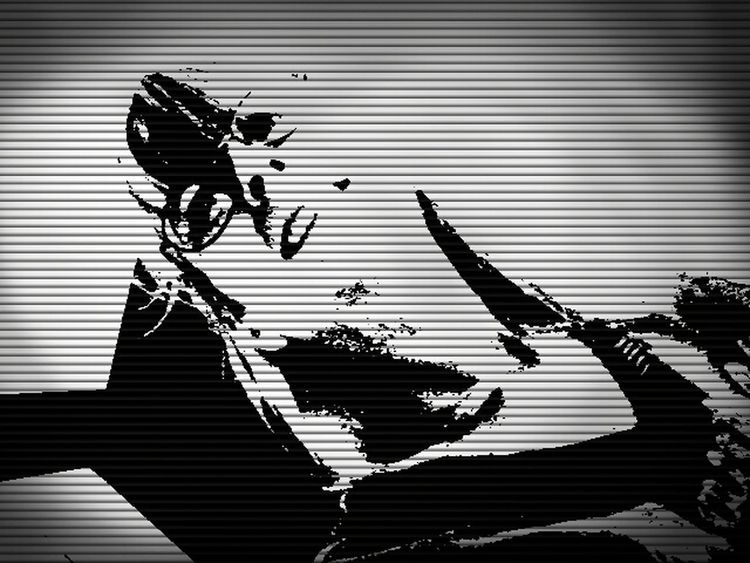 Black & White Me, Myself, And I Just Another Self Portrait Art Yourself