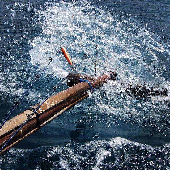 Lure fishing at Krakatau Tua Nature EyeEm Nature Lover Iphonesia Hello World Blackdrawing EyeEm IPhoneography Sea Nature_collection Getty Images