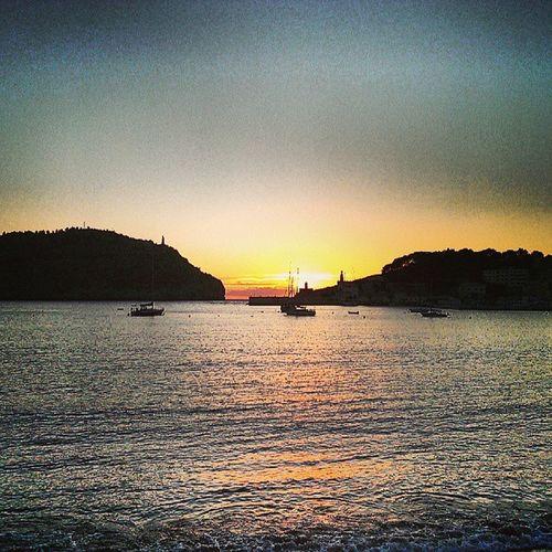 Sunset over the Mediterranean Sea. #PortDeSóller #Mallorca #Spain SPAIN Mallorca Portdesóller