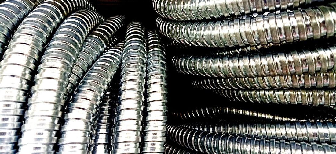 Metal pipe line