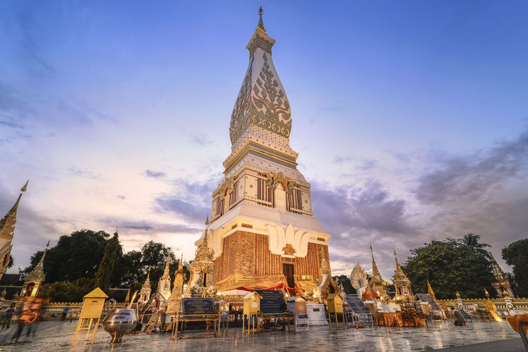 Buddhist Temple and Temple That Phanom Temple