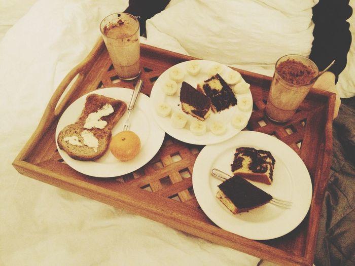 was my Breakfasttoday! Best Boyfriend Ever  ??✨