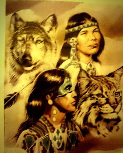 Cultura Cultures Indios Lobo Lince Honor Poder Power Energia Pura Energy