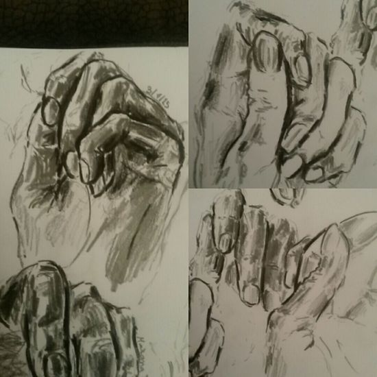 Art Sketchbook Mariana Paper Sketching Pencil Sketch Charcoal Pencil Drawing Hands