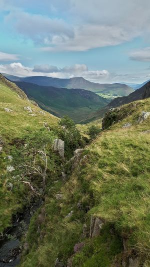 Lake District On A Hike UNESCO World Heritage Site English Countryside Valley View Exceptional Photographs Landscape_Collection Vanishing Point
