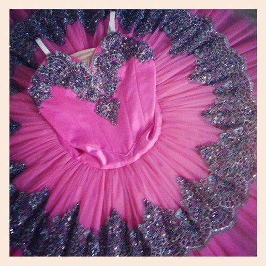 Hot Pink Tutu ♡ Tutu Ballet Pinkandblack Dramatic