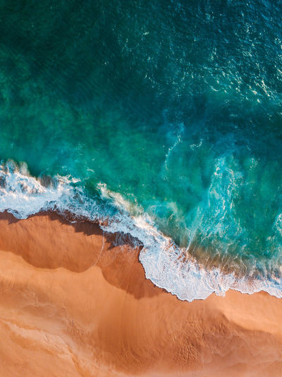Drone  Aerial Aerial View Beach Beauty In Nature Blue Day Dji Layers Nature No People Outdoors Scenics Sea Water Wave Waves Waves, Ocean, Nature The Great Outdoors - 2018 EyeEm Awards The Great Outdoors - 2019 EyeEm Awards