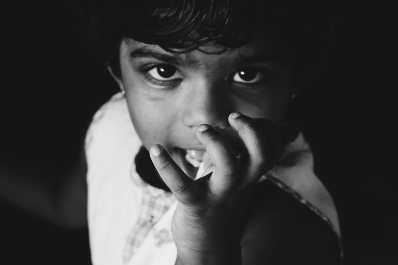 There are no seven wonders of the world in the eyes of a child. There are seven million. Kidsportrait WhatIValue Happyness From My Point Of View Capture The Moment Photography What I Value Eye4India Taking Photos Check This Out EyeEm Gallery Eye4photography  Incredible India Canon Camera Canon Black & White Portrait Eyesofachild Thinking People And Places People Photography Peoplescreatives Happy Kids Being Kids Uniqueness