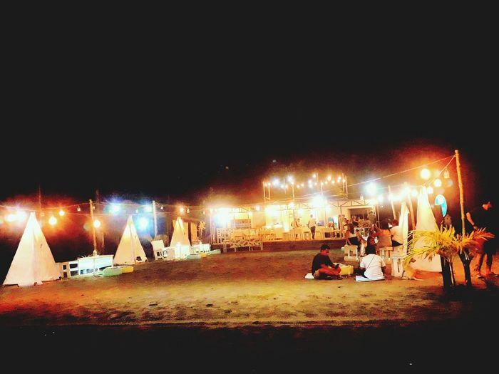 Night Large Group Of People People Sand Beach Sitting EyeEmNewHere